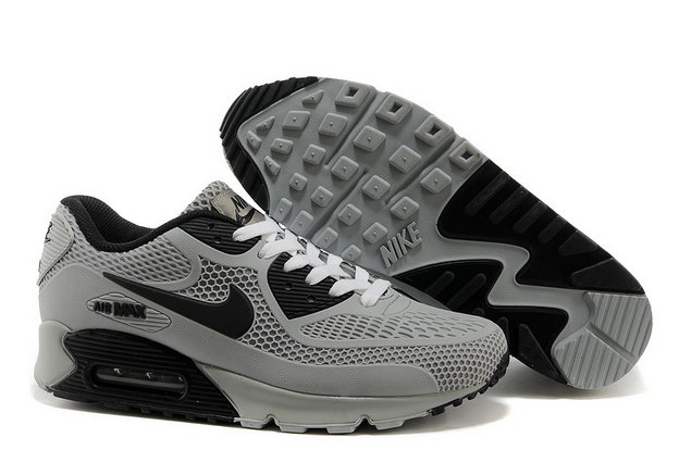 Air Max 90 Shoes Grey/black