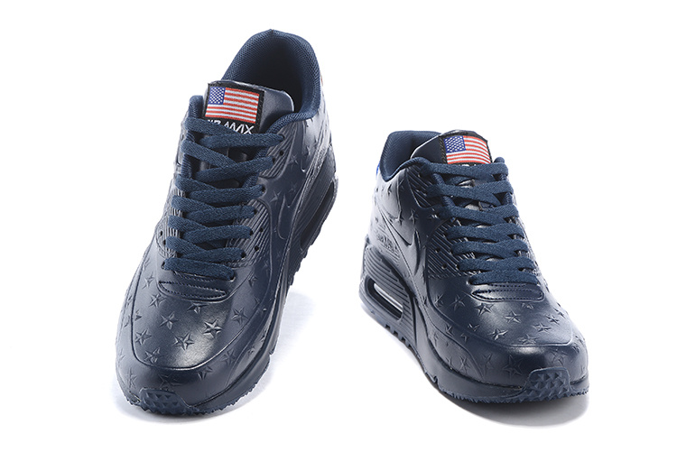 "Air Max 90 Hyperfuse ""Independence Day"" Pack Shoes Dark Blue"
