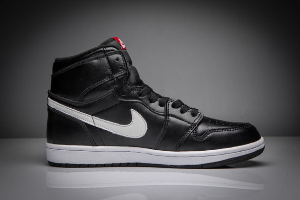 "Air Jordan 1 ""Yin Yang"" Shoes Black/White"