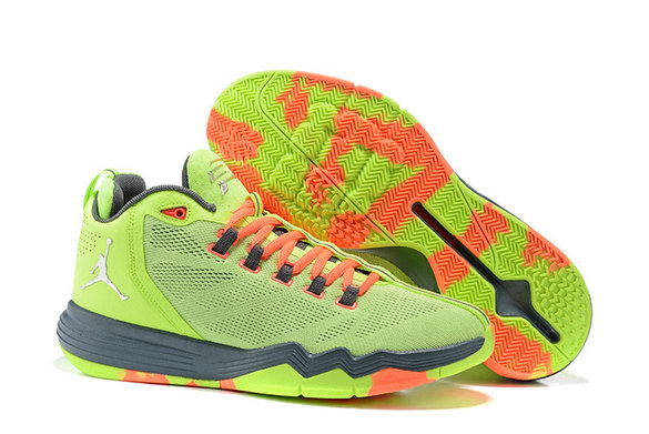 Jordan CP3 IX AE Shoes Green/Orange Black