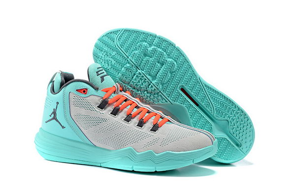Jordan CP3 IX AE Shoes Lake Blue/Grey Orange