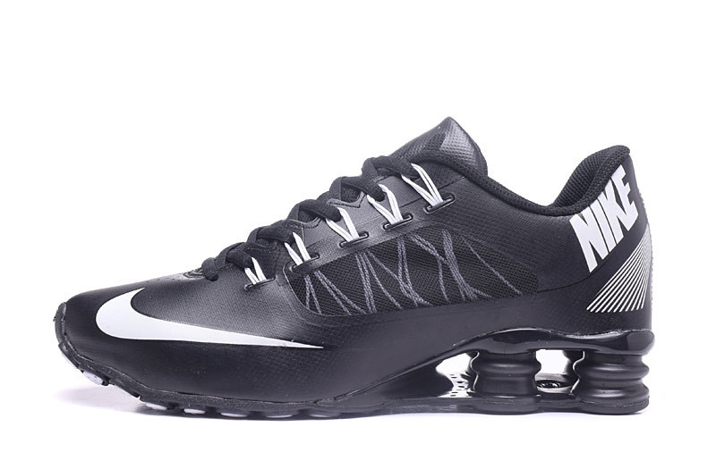 Nike Shox 808 Men Shoes Black White Black