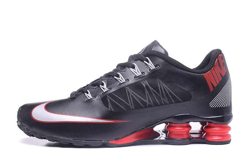 Nike Shox 808 Men Shoes Black White Red