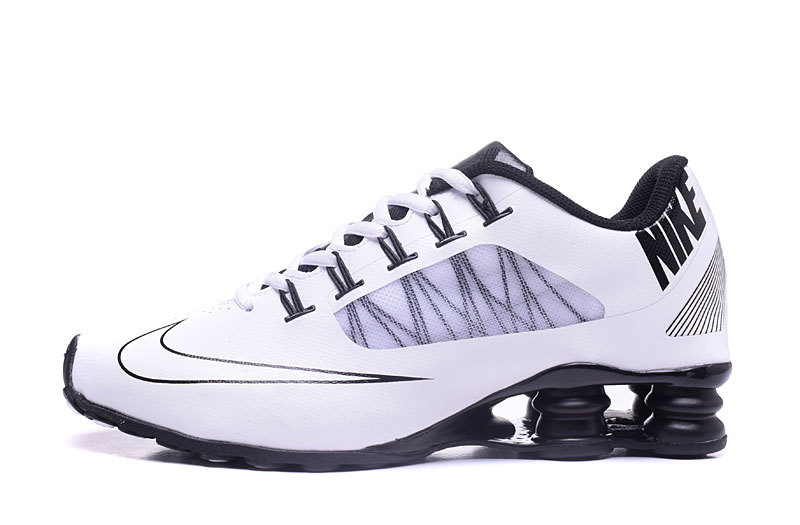 Nike Shox 808 Men Shoes White White Black