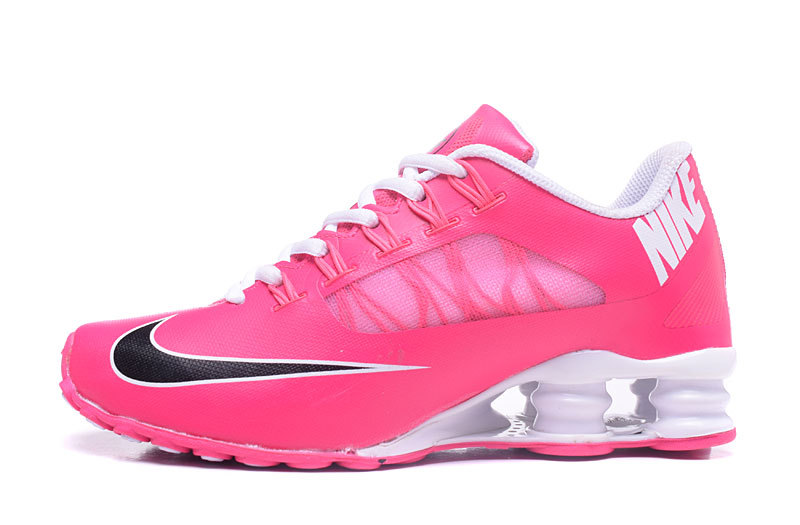Nike Shox 808 Women Shoes Pink Black White