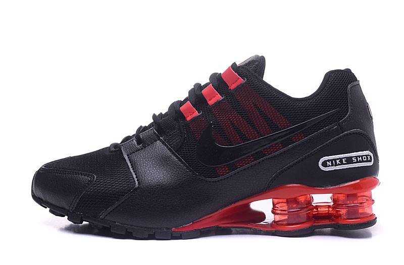 Nike Shox Avenue 802 H110 Men Shoes Black Red