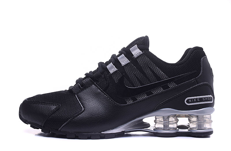Nike Shox Avenue 802 H110 Men Shoes Black Silver