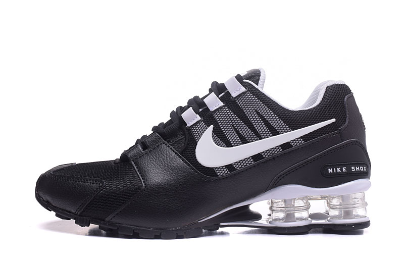 Nike Shox Avenue 802 H110 Men Shoes Black White