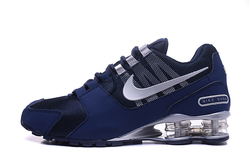 Nike Shox Avenue 802 H110 Men Shoes Blue Silver