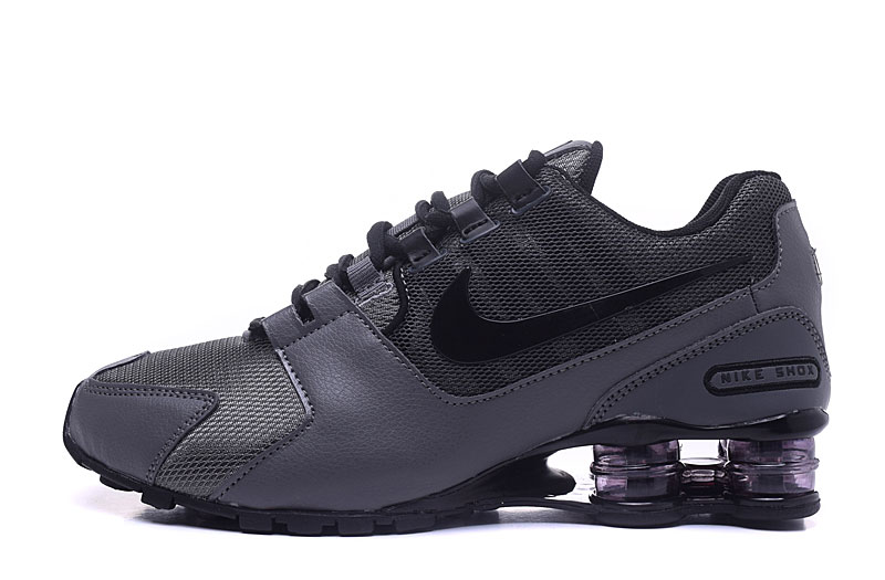 Nike Shox Avenue 802 H110 Men Shoes Carbon Gray Black