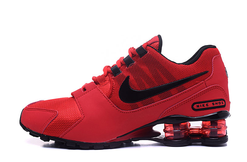 Nike Shox Avenue 802 H110 Men Shoes Red Black