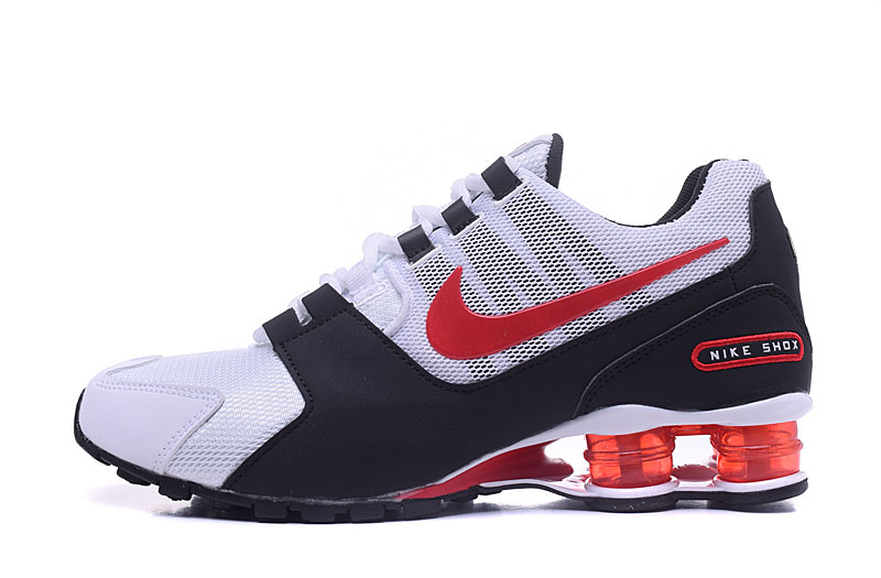 Nike Shox Avenue 802 H110 Men Shoes White Black Red