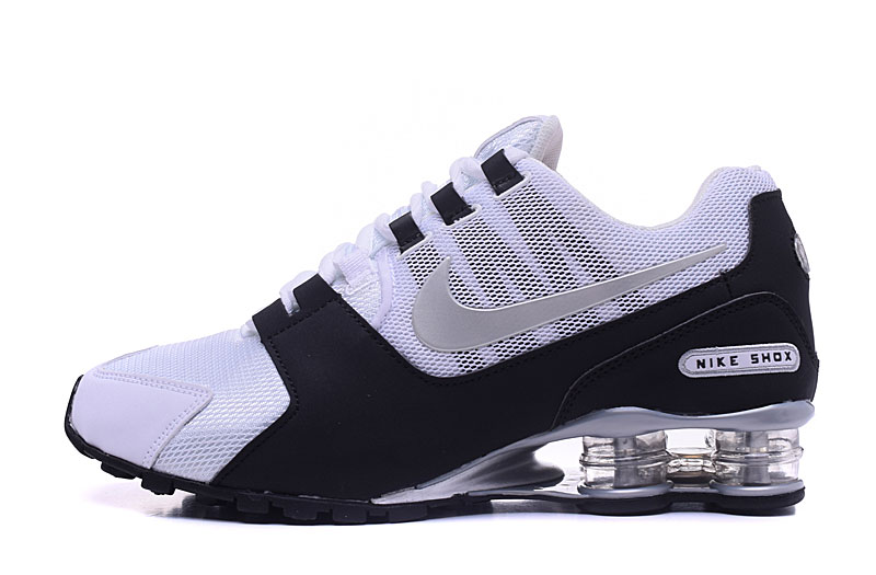 Nike Shox Avenue 802 H110 Men Shoes White Black Silver