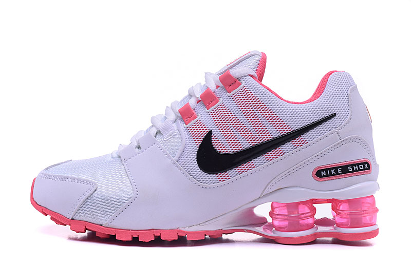 Nike Shox Avenue 802 H110 Women Shoes White Pink Black