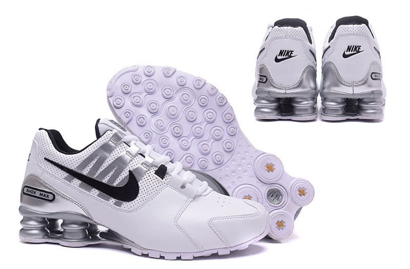 Nike Shox Avenue 803 Men Shoes  White Black Gray
