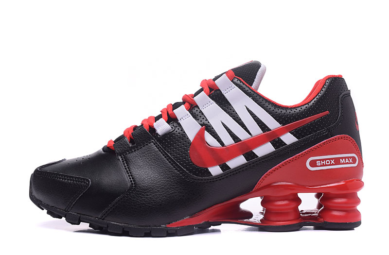 Nike Shox Avenue 803 Men Shoes Black Red White