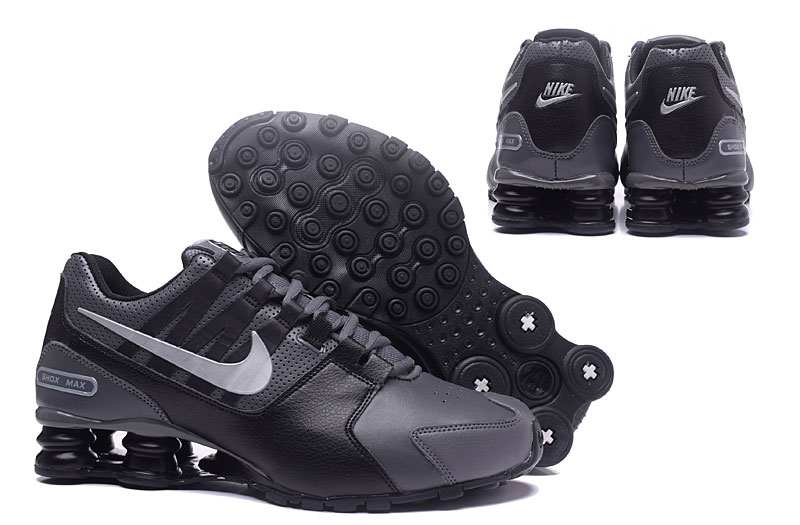 Nike Shox Avenue 803 Men Shoes Carbon Gray Black
