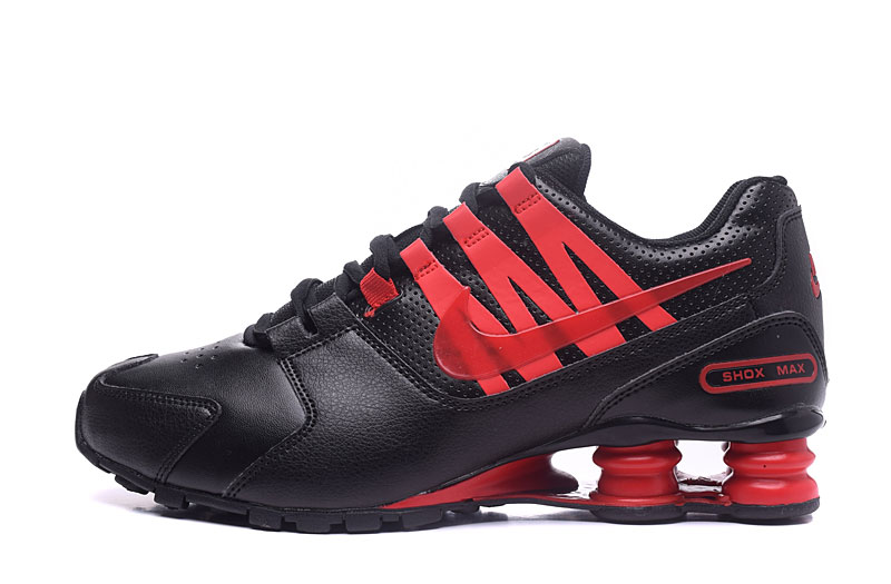 Nike Shox Avenue 803 Men Shoes Red Black