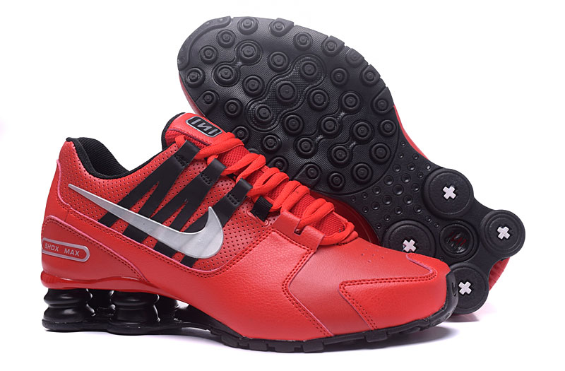 Nike Shox Avenue 803 Men Shoes Red White Blcak - Click Image to Close