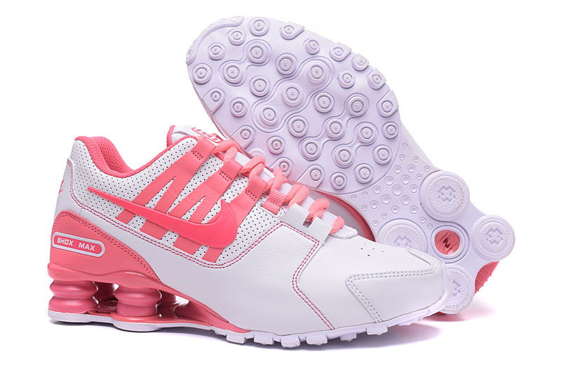 Nike Shox Avenue 803 Women Shoes White Pink - Click Image to Close