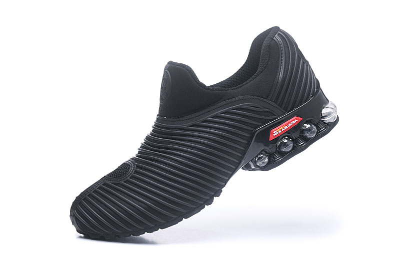 Nike Shox Brushed Men Shoes All Black