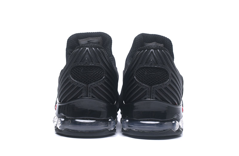 Nike Shox Brushed Men Shoes All Black - Click Image to Close