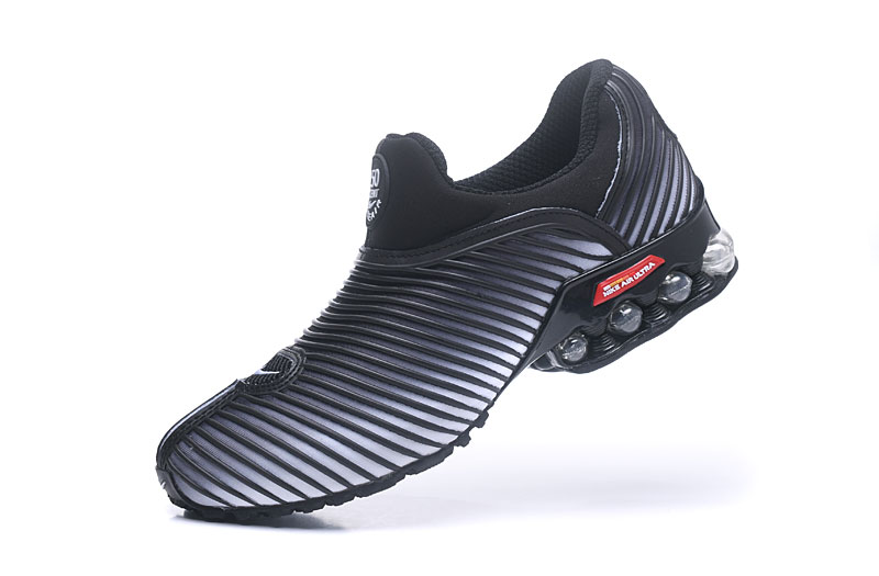 Nike Shox Brushed Men Shoes Black Gray