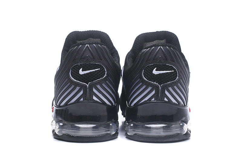 Nike Shox Brushed Men Shoes Black Gray - Click Image to Close