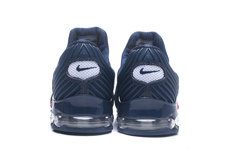 Nike Shox Brushed Men Shoes Blue White