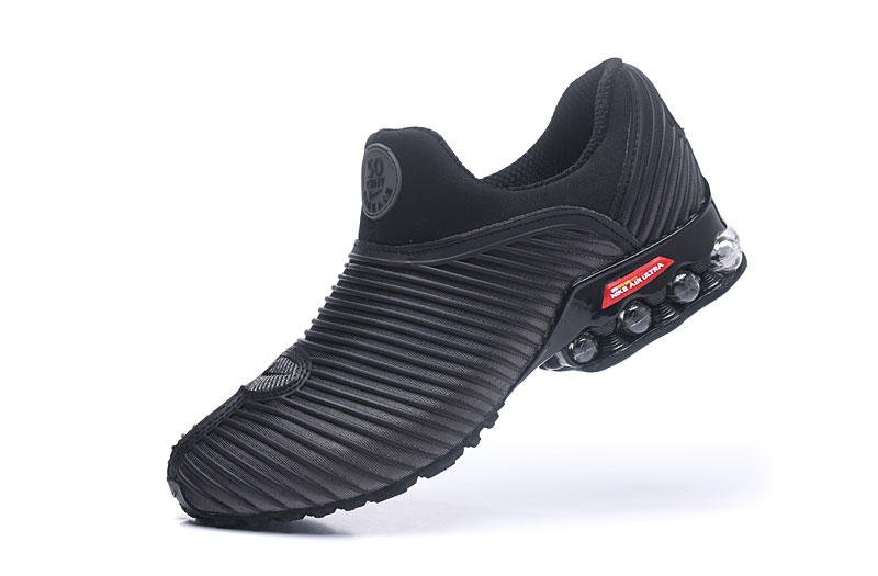 Nike Shox Brushed Men Shoes Carbon Gray Black
