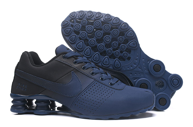 Nike Shox Delive Men Shoes Black Blue