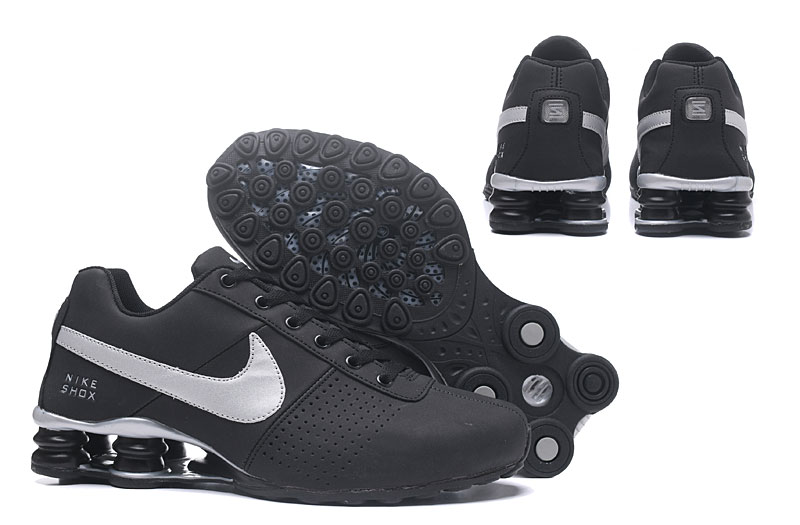 Nike Shox Delive Men Shoes Black White
