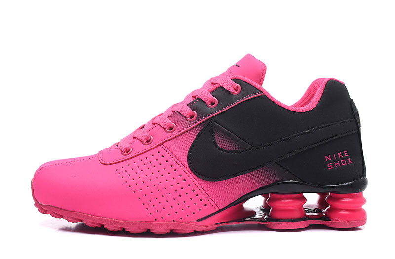 Nike Shox Delive Women Shoes Black Pink - Click Image to Close