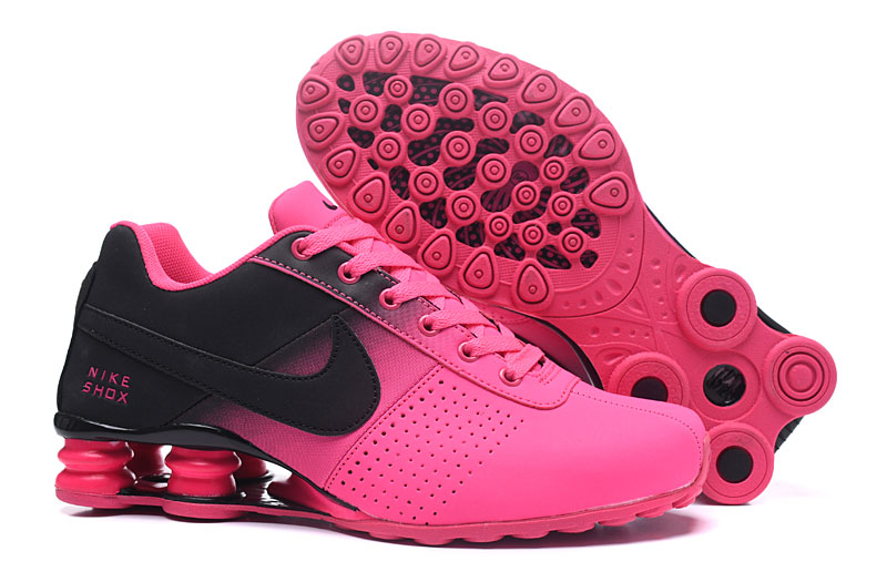Nike Shox Delive Women Shoes Black Pink
