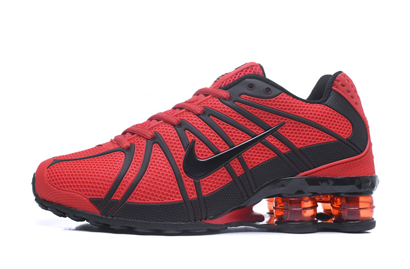 Nike Shox Men Shoes Black Red