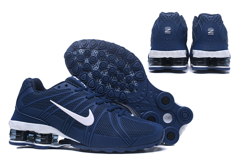 Nike Shox Men Shoes Blue White