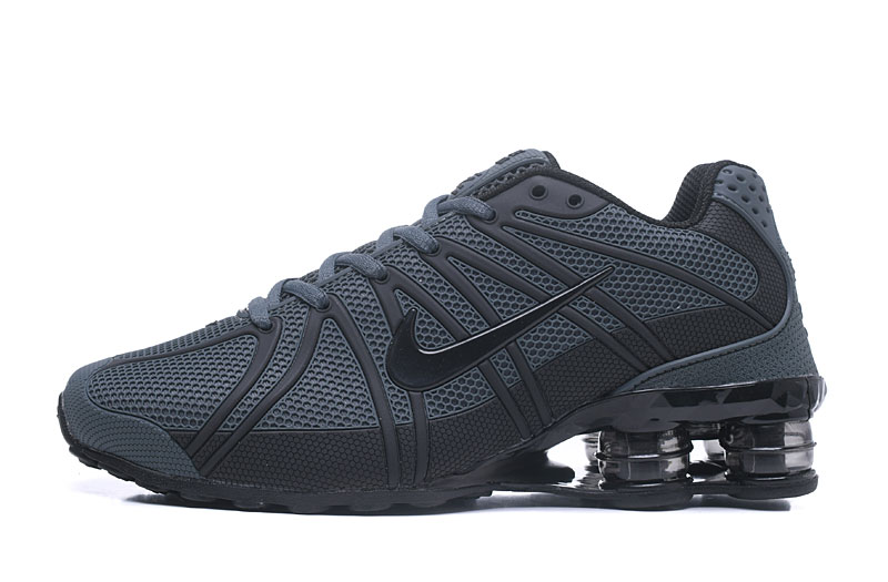 Nike Shox Men Shoes Carbon Gray Black