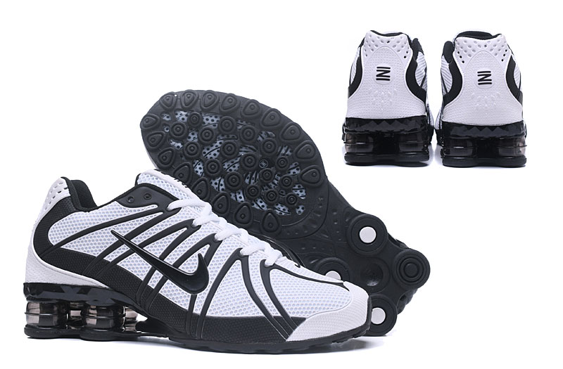 Nike Shox Men Shoes White Black
