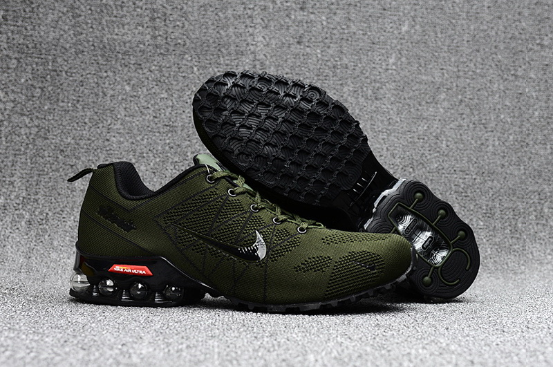 Nike Shox T160 Max Men Shoes Army Green