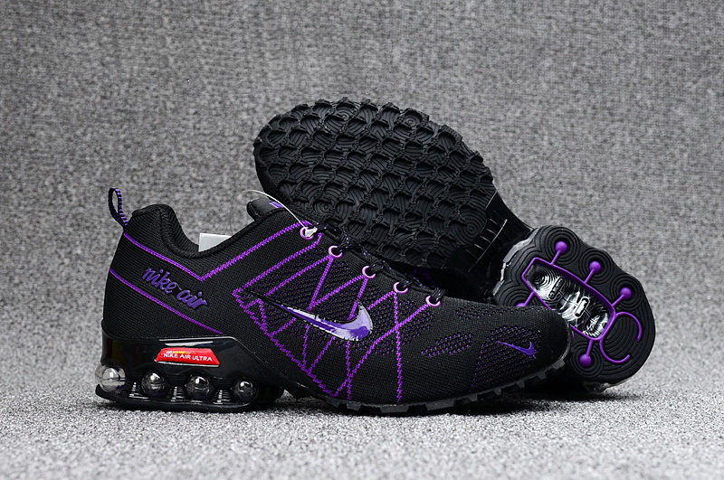 Nike Shox T160 Max Men Shoes Purple Black