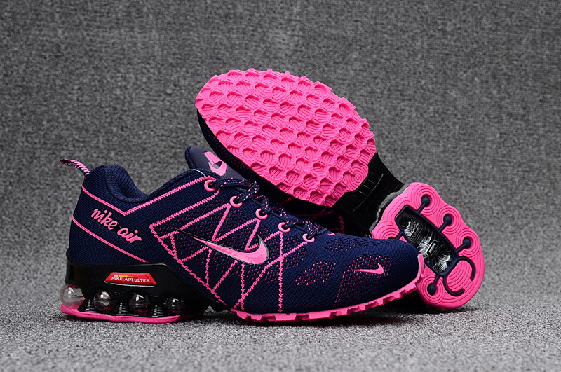 Nike Shox T160 Max Women Shoes Blue Pink