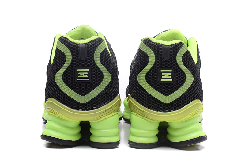 Nike Shox TlX H110 Men Shoes Black Green