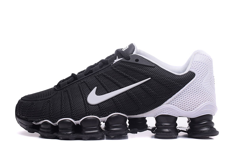Nike Shox TlX H110 Men Shoes Black White