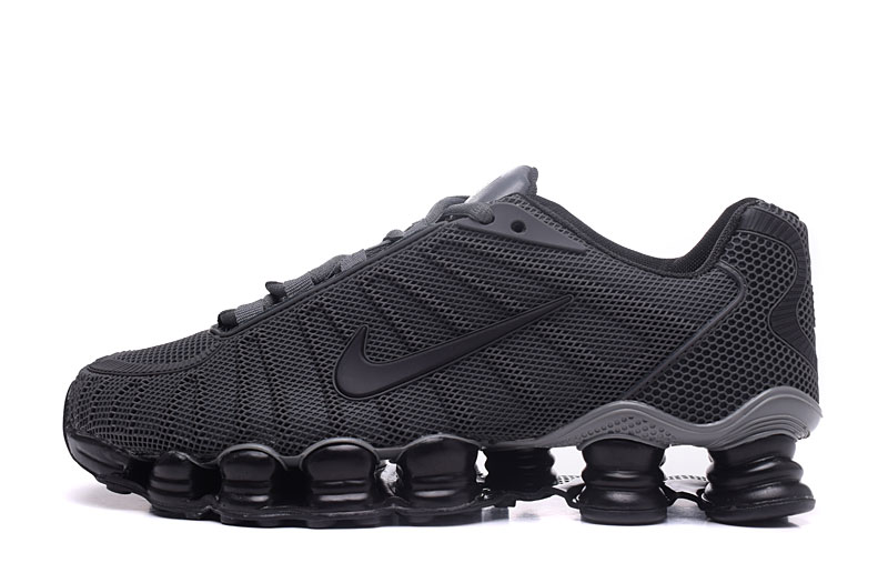Nike Shox TlX H110 Men Shoes Carbon Gray Black