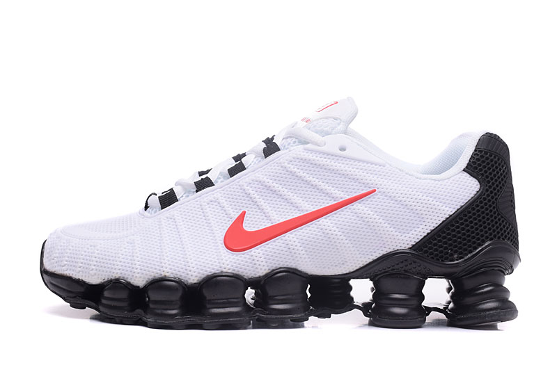 Nike Shox TlX H110 Men Shoes White Black Red