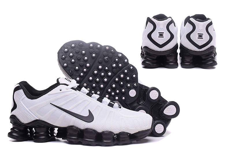 Nike Shox TlX H110 Men Shoes White Black