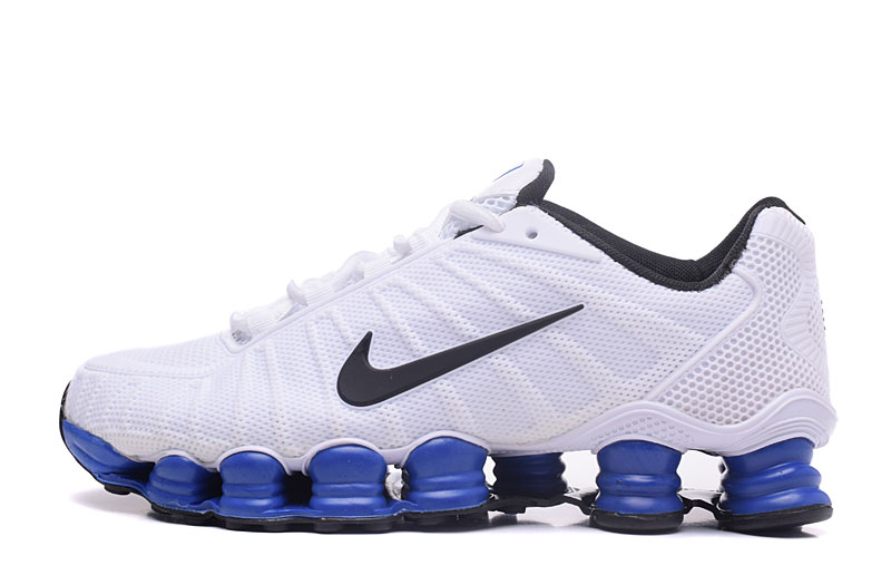 Nike Shox TlX H110 Men Shoes White Sapphire Black