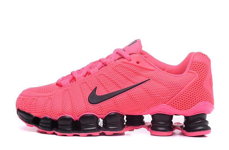 Nike Shox TlX H110 Women Shoes All Pink Black - Click Image to Close