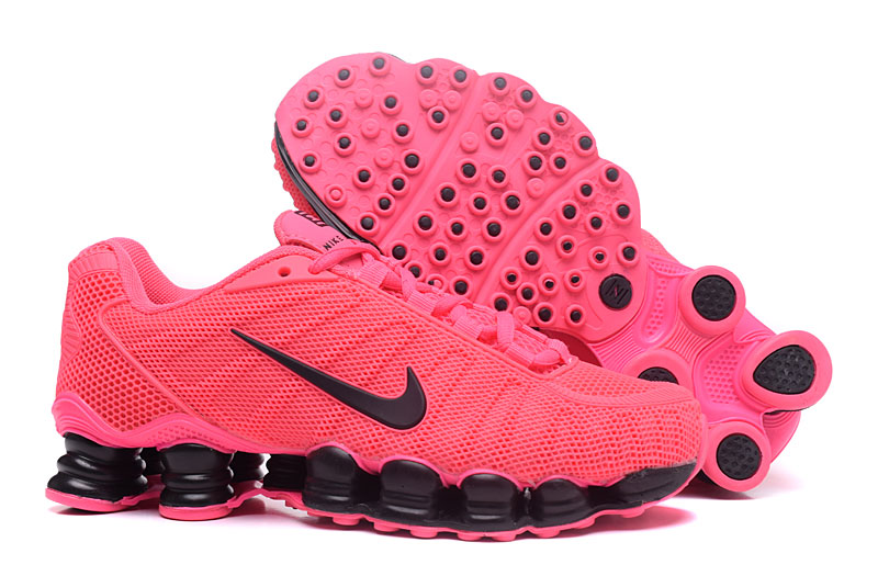 Nike Shox TlX H110 Women Shoes All Pink Black