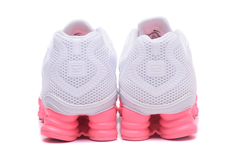 Nike Shox TlX H110 Women Shoes All White Pink